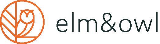 elm&owl Logo